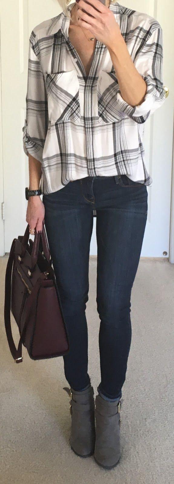 Striped Cardigan+ Scuba Leggings    Sweater: LOFT ( Similar ) | Faux Leather Leggings: Express  |  Tank: Target (Maternity for length) | N...