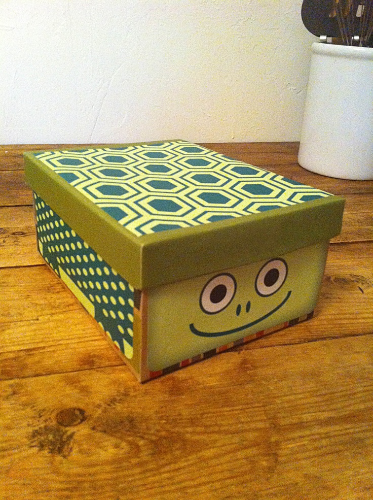 Box Play für Kinder Umweltfreundliche Recycling Craft Aufkleber   – Recycled Cardboard Crafts