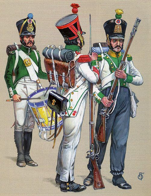 "Regno di Spagna - ""Spanish Regiment 'Joseph-Napoleon' in the campaigns of 1813 and 1814"""