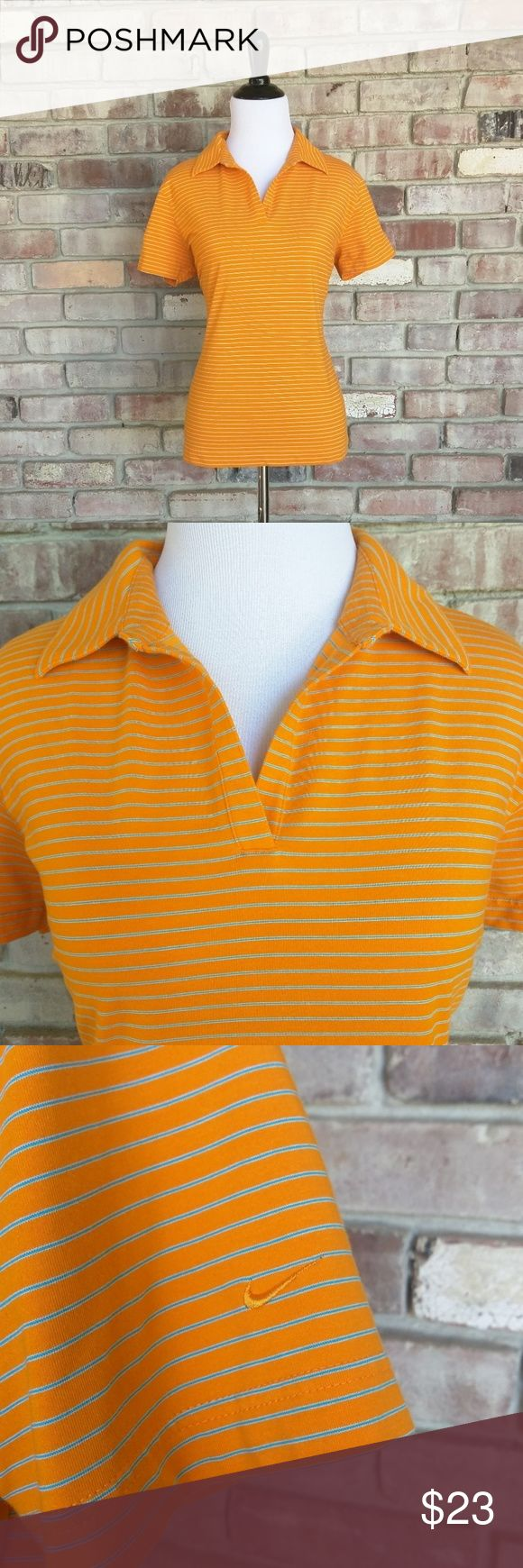 """Nike Golf Polo Classy women's golf shirt by Nike in excellent condition. Worn once or twice!  Measurements taken with garment laying flat: Length- 24"""" Armpit to armpit- 20"""" Nike Tops"""