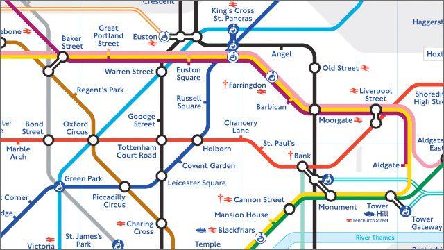 El transporte público es la mejor manera de moverse por Londres. Descarga gratis el plano de metro
