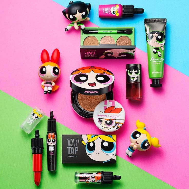 This Powerpuff Girls Makeup Collection Is Sugar, Spice, And Everything Nice | more.com