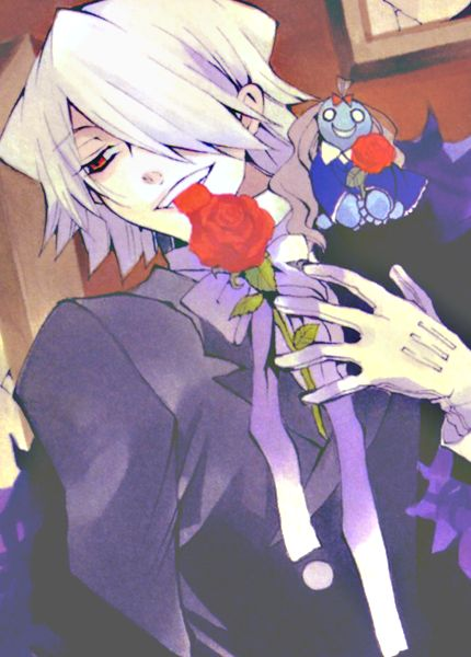 Pandora Hearts-Character colors: Xerxes Break (Kevin Legnard) [Violet] By: Jun Mochizuki