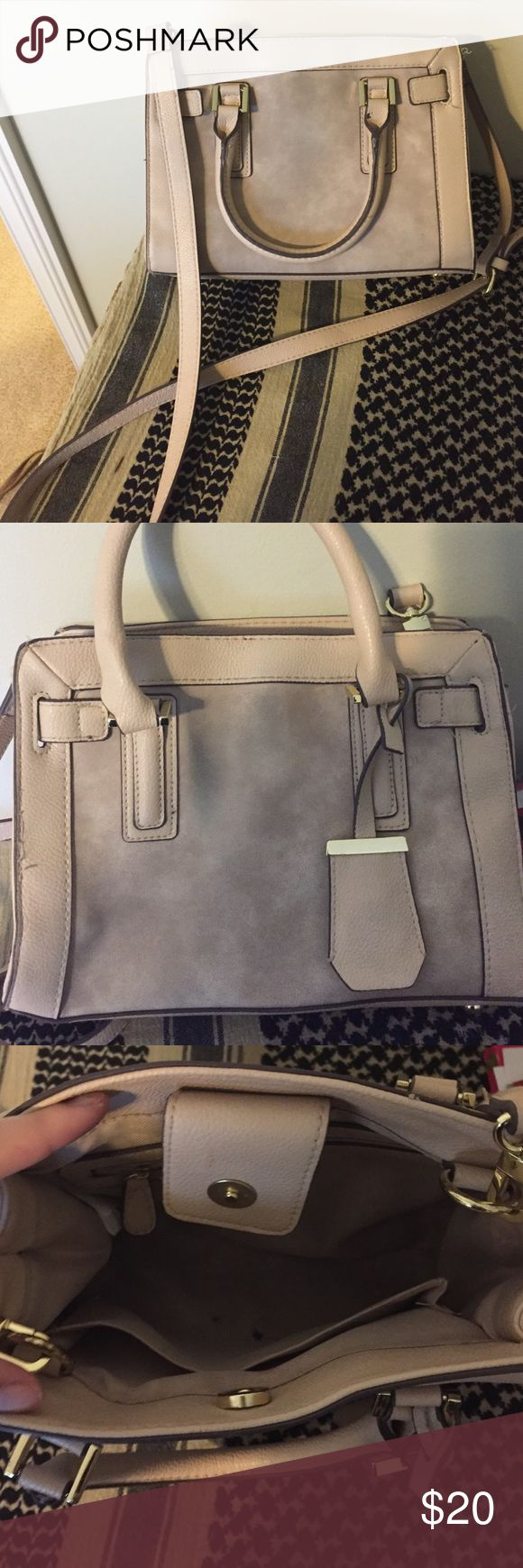 Purse Light pink target purse used twice small transfer spot on the front Merona Bags Crossbody Bags