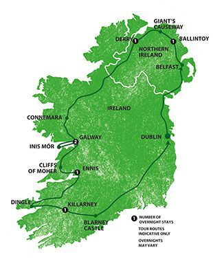 all-inclusive guided tours of ireland