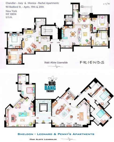 apartment floor plans for the jeffersons tv show trend