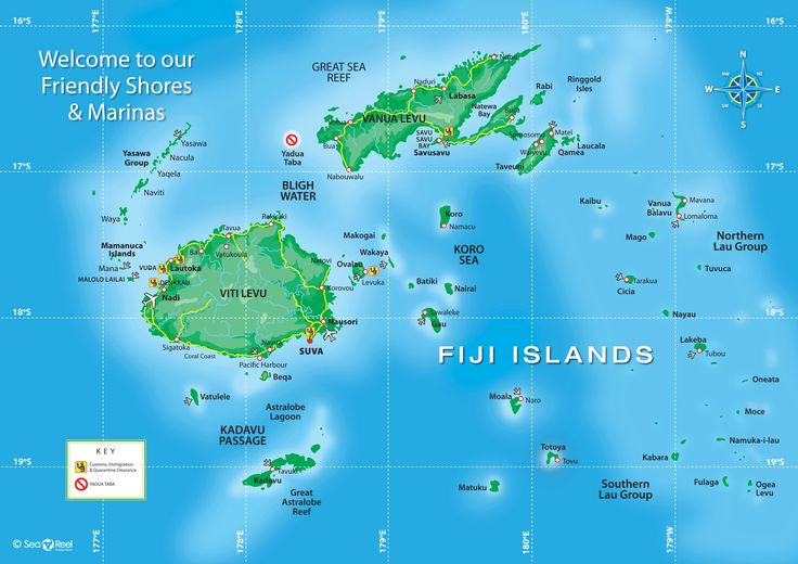 Map of Australia \ the Pacific Islands Geography Pinterest - new world map fiji country