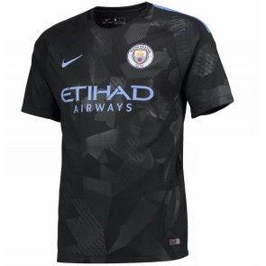 Manchester City Alternativní Dres 17-18 Krátký Rukáv