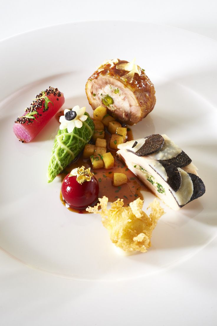 Bocuse d'Or 2015 | UNITED KINGDOM - Meat dish :copyright: Photos Le Fotographe- chef Adam Bennett