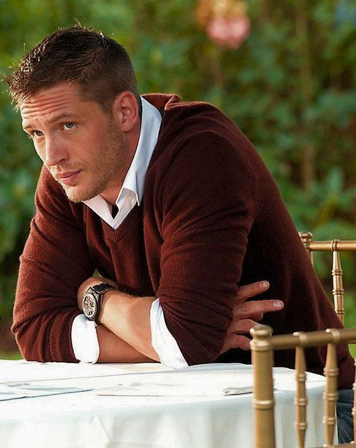 Tom Hardy. I know I've pinned him already, but I can't help it!
