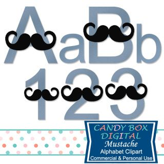 Jeans and a mustache! Whether it's for the baby shower for that Little Man or Dad for Father's Day, this cute alphabet would be great for party invitations, scrapbooks and photo journals - or even for making a wall art print!