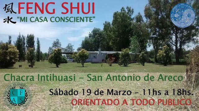 --------------------------    ARQUITECTURA Y FENG SUI: TALLER DE FENG SHUI EN SAN ANTONIO DE ARECO