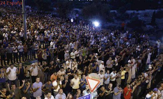 Israel retira los detectores de metales de la mezquita de Al-Aqsa en Jerusalén
