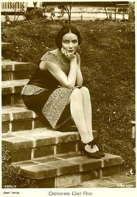 Dolores del Río (1905 – 1983) was a Mexican film actress