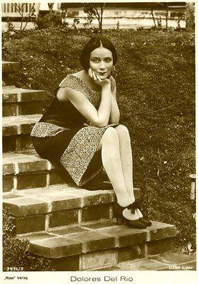 Dolores del Río (1905 – 1983) was a Mexican film actress