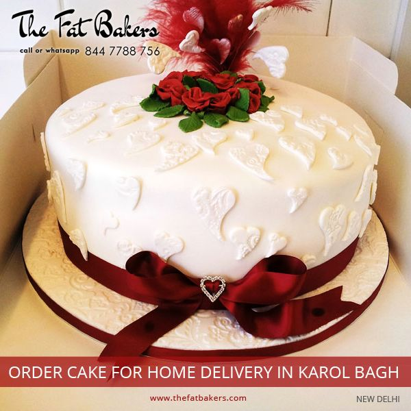 Order Cake Online From The Fat Bakers- Best Price & Home Delivery Service. Buy Black Forest, Butter Scotch, chocolate, Fruits & Nuts, Kiwi, Pineapple, and Vanilla Cakes Online at KarolBag, NewDelhi, India.  Call or WhatsApp +91- 844 7788 756