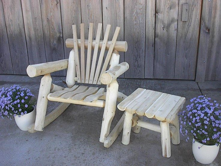 Find This Pin And More On White Rustic Cedar Log Furniture By Furnbarnusa.