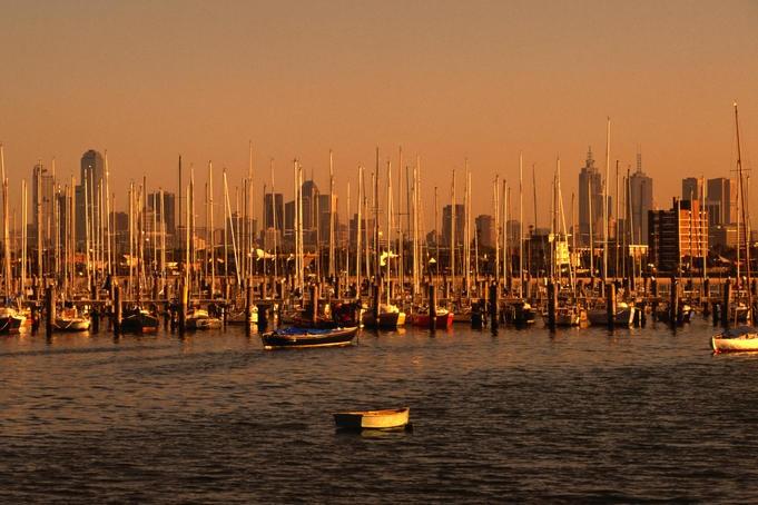 St Kilda pier, Melbourne,