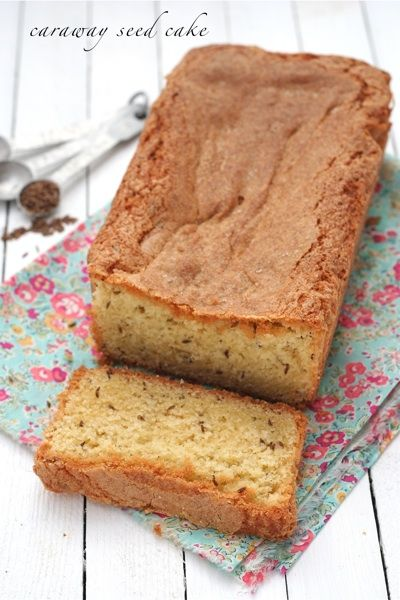 caraway seed cake- traditional at little Christmas in Ireland. January 6th