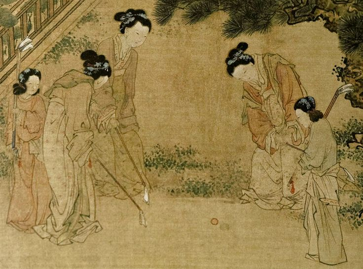 Court ladies in the inner palace, by Du Jin (mid 15th cent)
