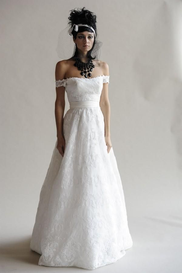 Ines Di Santo Luxe Fall 2014 Wedding Dresses - Weddbook