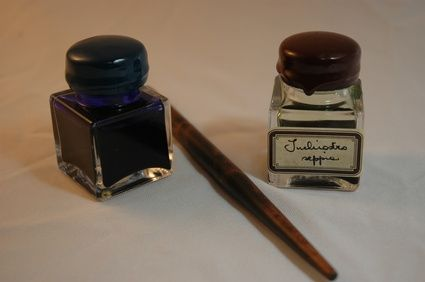 How to make ink for Colonial Detectives week at Wyck summer camp. (wyck.org)