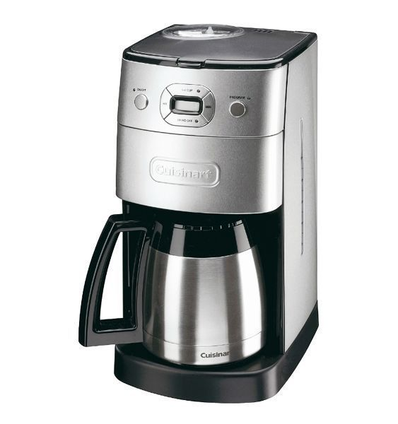 Automatic Grind And Brew Coffee Maker Cuisinart DGB650BCU Grind and Brew Automatic Filter Coffee ...
