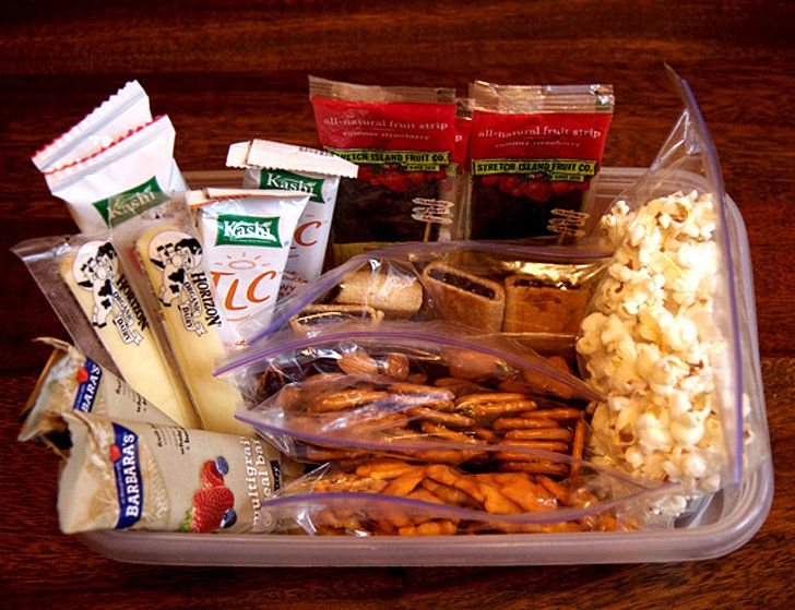 Keep Healthy Snacks Close By