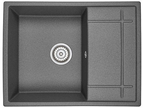 Кухонная мойка Granula GR-6501 gr, графит купить по низкой цене в интернет магазине Web-Market.SU