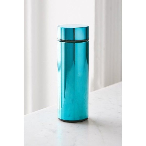Travel Mug (25 CAD) ❤ liked on Polyvore featuring home, kitchen & dining, drinkware, urban outfitters, stainless steel coffee mug, stainless travel mug, modern coffee mugs and stainless steel travel mug
