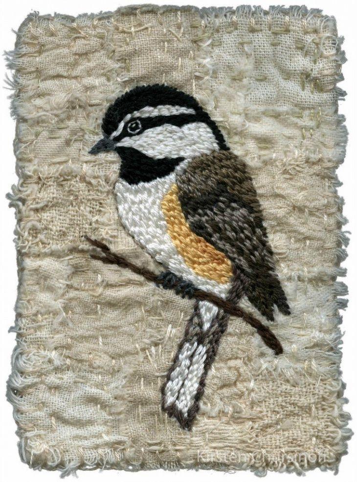 Красота природы на вышивках Kirsten Chursinoff - Ярмарка Мастеров - ручная работа, handmade