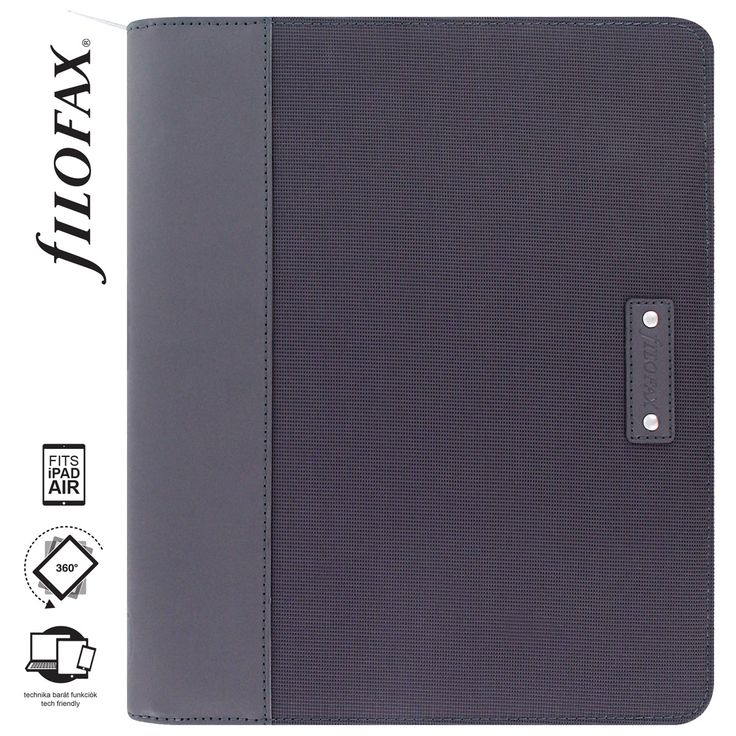 Filofax Tablet Case Microfiber iPad Air Grey