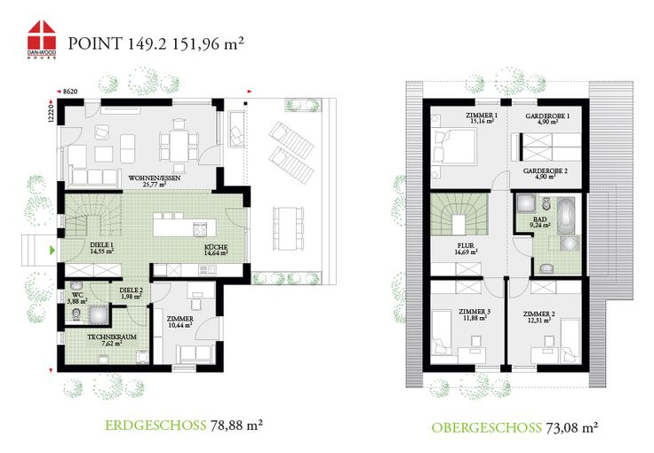 Point 149.2 - DAN-WOOD House schlüsselfertige Häuser