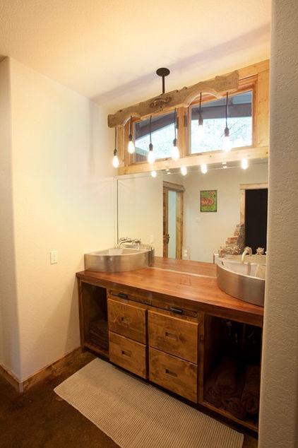House by Wright-BuiltBathroom Design, Texas Style, Lights Fixtures, Modern Bathroom, Bathroom Vanities, Barns Bathroom, Rustic Bathrooms, Bathroom Ideas, Bathroom Interiors Design