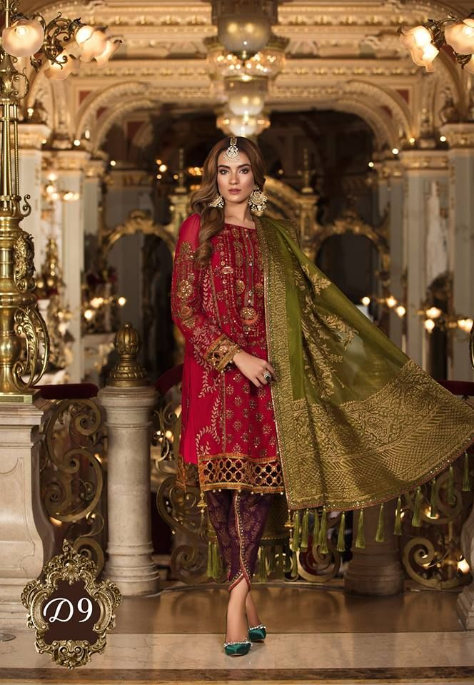 4ed7e86eca MBROIDERED Wedding Edition 2018-19 By Maria-B - PK Vogue #lateststyle # mariab #mbroidered #winter #Pakistani #Pakistanidress #lateststyle  #shalwarkameez ...