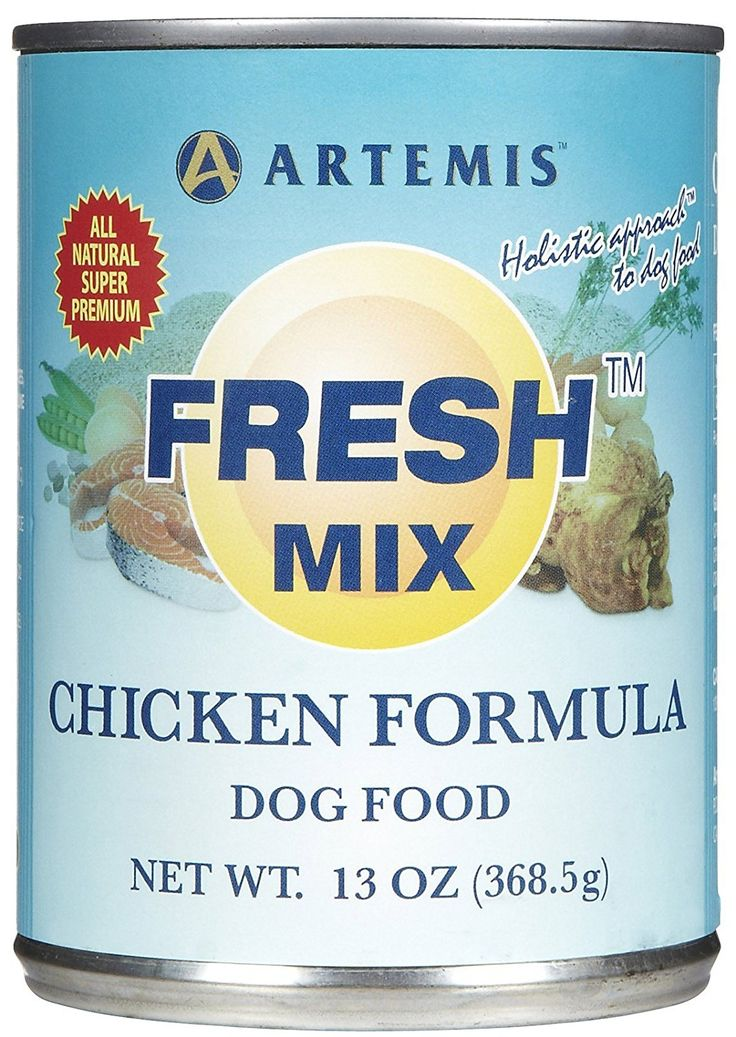 Artemis Fresh Mix 13oz Can Chicken Dog Food -- Review more details here (This is an amazon affiliate link. I may earn commission from it)