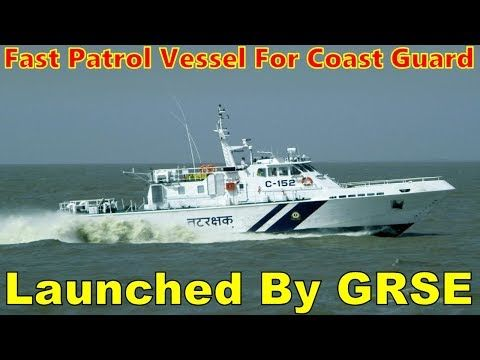 State-run ship maker Garden Reach Shipbuilders and Engineers Ltd (GRSE) said that the first of five Fast Patrol Vessels (FPV) being built for the Indian Coast Guard was launched on Saturday. The entire design of the FPVs was developed in-house by GRSE as per requirements specified by the...