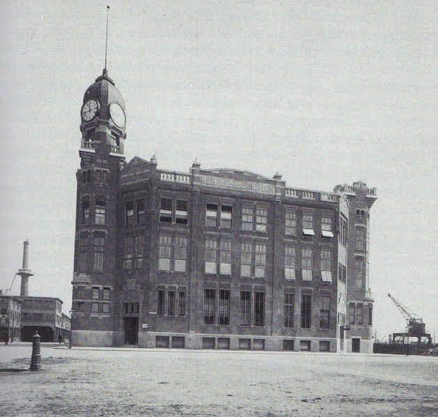 Muller, Droogleever Fortuyn en Van der Tak, 3e verbouwing hoofdkantoor HAL, Wilhelminakade, Rotterdam 1917