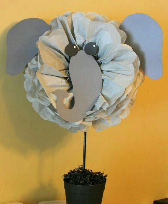 Elephant Tissue Paper Animal