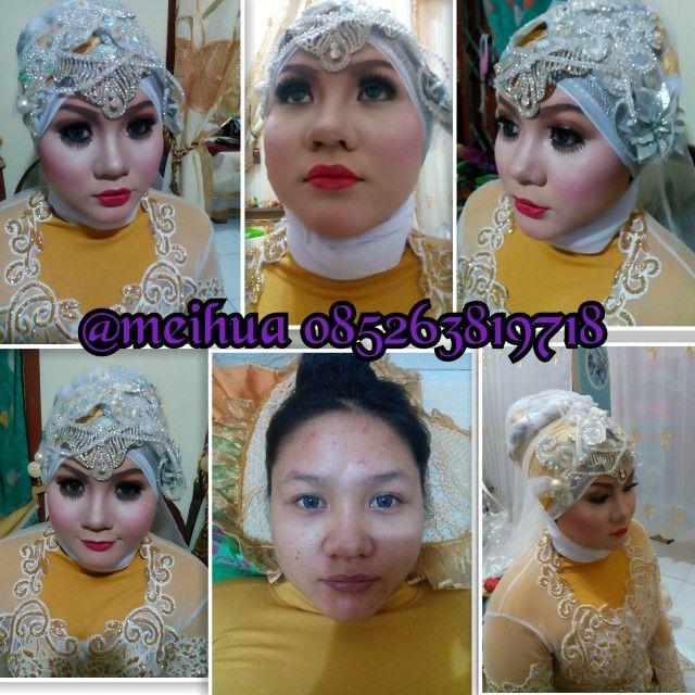 makeup tgl 28-Des-2014 pengantin ira