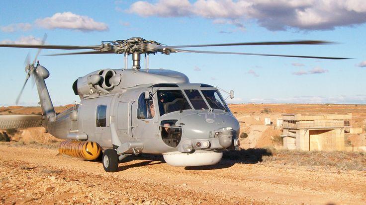 Sikorsky S-70B-2 Seahawk at Lake Hart Launch Area, Woomera, South Australia - May 2013
