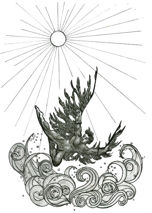 Illustration Icarus                                                       …