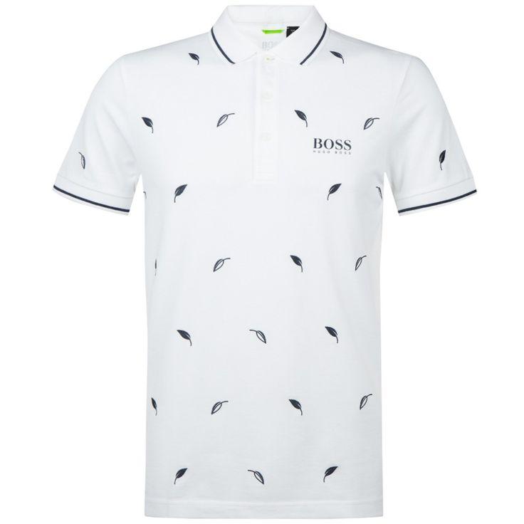 Boss Green Paule Pro 2 Training White   Polo Shirt   TRENDYGOLFUSA.COM