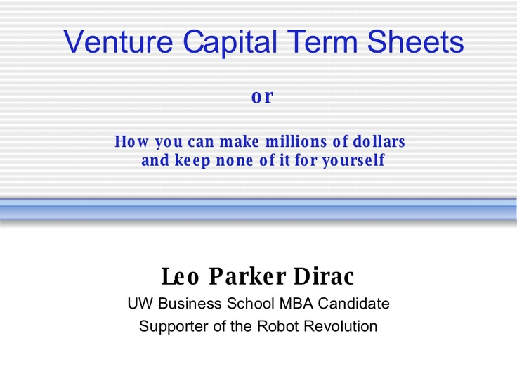 Best  Term Sheet Template Ideas On   Pattern