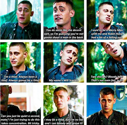 Wanna see more of Will in the second half of season 4. He's hilarious! Now wanna watch OUAT in Wonderland cuz of him.