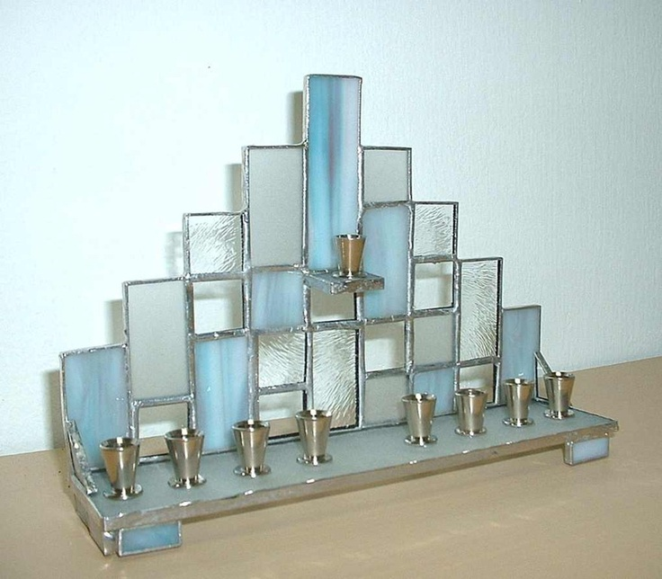 Tiffany Hanukkah Menorah GORGEOUS!