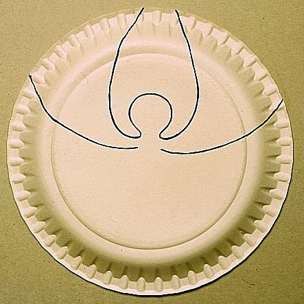 dibuje estas formas en el plato recorta y una con una grapadora ,saludos jeannine