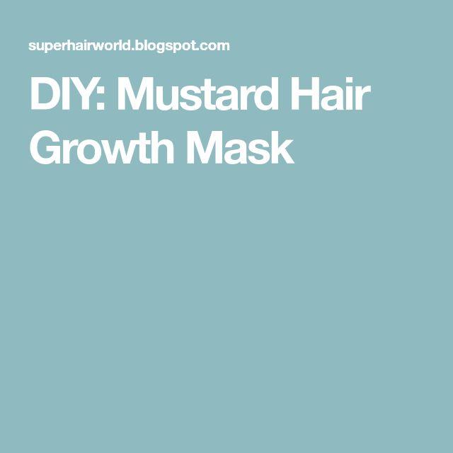 DIY: Mustard Hair Growth Mask