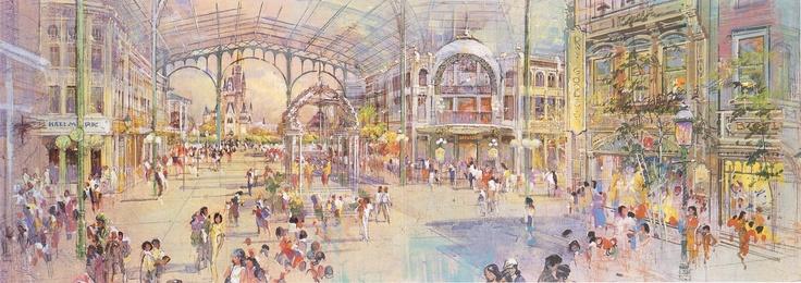 Tokyo Disneyland concept