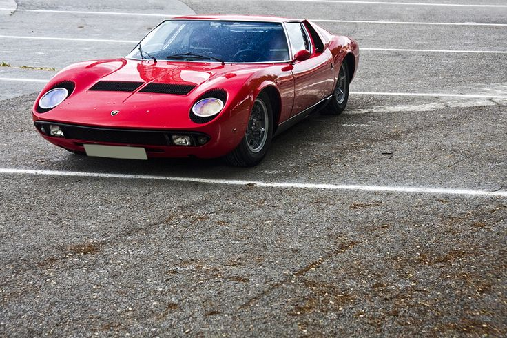 Still trying to figure out if I like this particular Lamborghini.  I like older cars, but the New Miura is HOT!!
